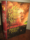 SIGNED 1st Edition YOU COME WHEN I CALL YOU Douglas Clegg HORROR Cemetery Dance