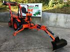 KUBOTA B7000 4WD COMPACT SMALL TRACTOR WITH FRONT LOADER BACKHOE MINI DIGGER