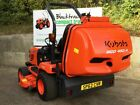 KUBOTA BX2350 4WD COMPACT TRACTOR WITH MID MOUNT LAWNMOWER  HIGH TIP COLLECTOR