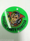 Official Party Monster Pinball Zone Promotional Plastics Key chain KeyChain NOS