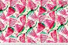 Watermelon Watercolor Watermelon Fruit Fabric Printed By Spoonflower Bty