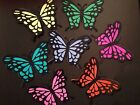 Butterfly Die Cut 3 D Handmade Card stock Paper Piecing Scrapbook Embellishment