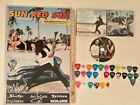 SUN RED SUN-SIgned Poster, CD, Drumstick, 33 Guitar Picks. Alice In Chains