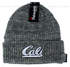California hat CALI Beanie knit hat Cuffed Skull cap 3M Thinsulate 40g - Gray