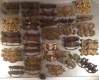 Lot of 59 Pieces Antique Vintage Brass Drawer Pulls Handles - Furniture Hardware