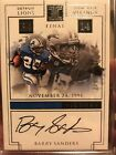 2017 Panini Impeccable Victory Barry Sanders AUTO 2 5 LIONS