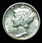 1936 S Mercury Dime (Hard date to find)