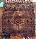 Vintage Handmade Turkish Moroccan Saddle Bag Carpet Bag Original Tags 19