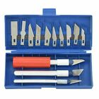 16pc Hobby Knife Assorted Blades and Gouges Exacto Hobby Model Toy Set