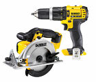 Dewalt DCD785 + DCS391 18V XR Lithium Ion Combi Drill & Circular Saw Bodies