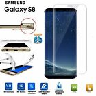 For All Samsung Galaxy 3D Full Curved Tempered Glass LCD Screen Protector Clear