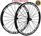 50mm Carbon Wheels Powerway R13 Hub Reflective Decal Road Bike Wheelset 700C