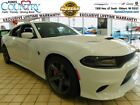 Charger SRT Hellcat 2018 Dodge Charger SRT Hellcat 0 Miles White 4D Sedan HEMI 8 Speed Automatic