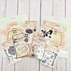 Prima Marketing Clear Stamps  Stencils Lot