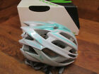 CANNONDALE TERAMO BICYCLE BIKE CYCLING ROAD HELMET WHITE TEAL L XL 58 62CM WOMEN