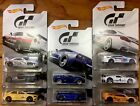 HOT WHEELS GRAN TURISMO 2018 SET OF 8 THE REAL DRIVING SIMULATOR ON HAND READY
