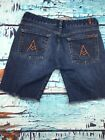 3L4- Seven For All Mankind Shoets Size 30 Mid Rise Distressed