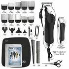 Wahl Pro Hair Cutting Kit Professional Barber Machine Clipper Haircut Trimmer 25