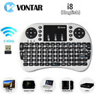 English Wireless Keyboard 24G with Touchpad for PC Android TV Kodi Media Box WT