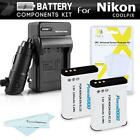 2 Pack Battery & Charger Kit For Nikon Coolpix P900 P610 P600 B700 Digital Camer
