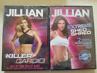 Lot of 2 NEW Jillian Michaels Workout DVDs Killer Cardio Extreme Shred Video Set