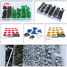 Complete Fairing Bolt Screws Kit Fit For Kawasaki Ninja 300 250 ZX6R 7R 9R 12R
