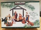 Kirkland Christmas Signature Porcelain 13 Piece Nativity Set All Figures