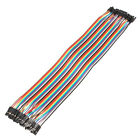 40x Breadboard Dupont Jump Connector Cable M-mm-ff-f Jumper Wire For Arduino