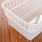 Tabletop Plastic Container Refrigerator Fruits Drinks Bins Organizer with Handle