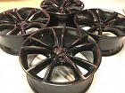20 Dodge Charger Challenger RT Black Wheels Rims Factory OEM 2545 Set 5PN35TRMA