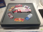 MATCHBOX NASTRAK DRIVING SCHOOL 1992 RICHARD PETTY 6 CARSTRACTOR TRAILER NEW