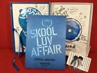 Used 2nd mini album Skool Luv Affair (1CD + 2DVD) Limited (Korean Version) card