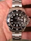 ROLEX Sea Dweller Deepsea 116660 With Free Rubber B Band MINT with Box And Card
