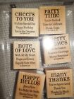 Stampin Up Lots of Thoughts Stamp Set