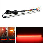 45CM Dual Color Motorcycle Taillight Turn Signal Brake Light Stripe Waterproof