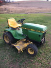 John Deere 314 Riding Mower Garden Tractor Works Great Great Shape