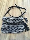 Oasis Black  White Crossbody Bag BNWT