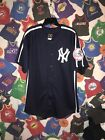 MLB New York Yankees Mickey Mantle Jersey #7 Cooperstown Collection HOF L