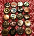 20 BOTTLE CAP CROWNS Craft Domestic Import BEER LIQUOR WHISKEY Lot 8