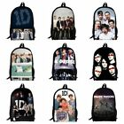 New One Directio Vegeta Son Girls Boys School Backpack Kids