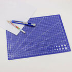 Portable 2230cm Blue Plastic Cutting Plate Cutting Mat Grid Lines A4
