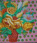 1 yard Kaffe Fassett Flower Basket GP48 Pink OOP 100 Cotton Quilt Fabric Rare