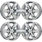 18 LEXUS GX460 PVD CHROME WHEELS RIMS OEM 74229 WITH CAPS NO EXCHANGE SET OF 4