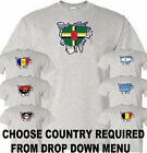 flag of any country (LIST 2)(choose in menu) digital printed t shirt