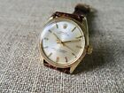 Mens Vintage c.1970 ROLEX OYSTER PERPETUAL 14K SOLID GOLD Wristwatch Ref.1005