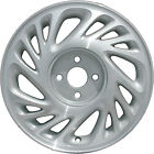OEM 15X6 Alloy Wheel Medium Silver Sparkle Textured With Machined Face 560 7010