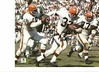 Jim Brown Cleveland Browns Autographed 8x10 with COA and HOF '71 Inscription