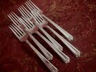 Bright Future Holmes Edwards Inlaid Silverplate Flatware set of 6 salad forks