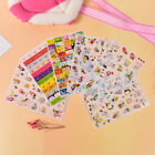 6 Sheets Kawaii Cartoon Rabbit Paper Sticker for Scrapbooking Diary Decor PVC HV
