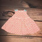 Coral Heart Summer Dress 3 month Baby Girl Just One You